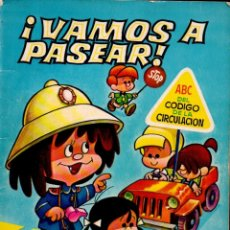 Libros de segunda mano: VAMOS A PASEAR CON LA FAMILIA TELERÍN - ABC DEL CÓDIGO DE LA CIRCULACIÓN (BRUGUERA, 1965). Lote 181207486