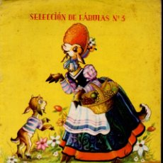 Libros de segunda mano: FÁBULAS DE LA FONTAINE (ILUSIÓN INFANTIL MOLINO, 1962) ILUSTRADO POR NIUBÓ. Lote 181209562