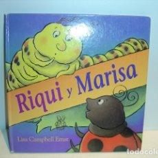 Libros de segunda mano: RIQUI Y MARISA - LISA CAMPBELL ERNST - EDITORIAL JUVENTUD 1998. Lote 181214012