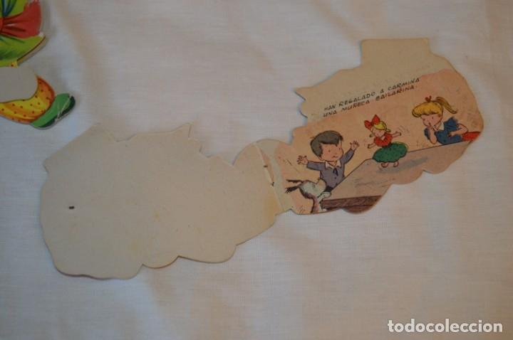 Libros de segunda mano: LIBROS BAILARINES - LOTE 3 CUENTOS ANTIGUOS TROQUELADOS - AÑOS 50/60 - Editorial MATEU ¡Mira! - Foto 9 - 181322290