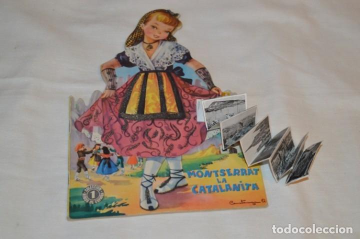 TROQUELADO MONTSERRAT LA CATALANITA - COLECCIÓN NIÑOS DE ESPAÑA - EDITORIAL MATEU AÑOS 50/60 ¡MIRA! (Libros de Segunda Mano - Literatura Infantil y Juvenil - Cuentos)