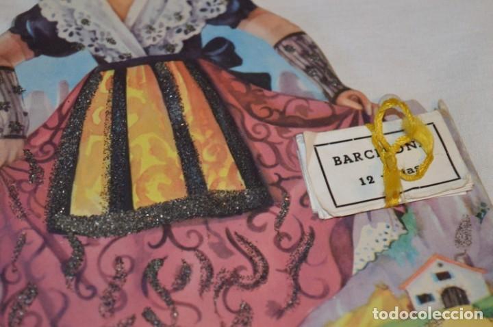 Libros de segunda mano: Troquelado MONTSERRAT LA CATALANITA - Colección NIÑOS de ESPAÑA - Editorial MATEU Años 50/60 ¡Mira! - Foto 3 - 181327987