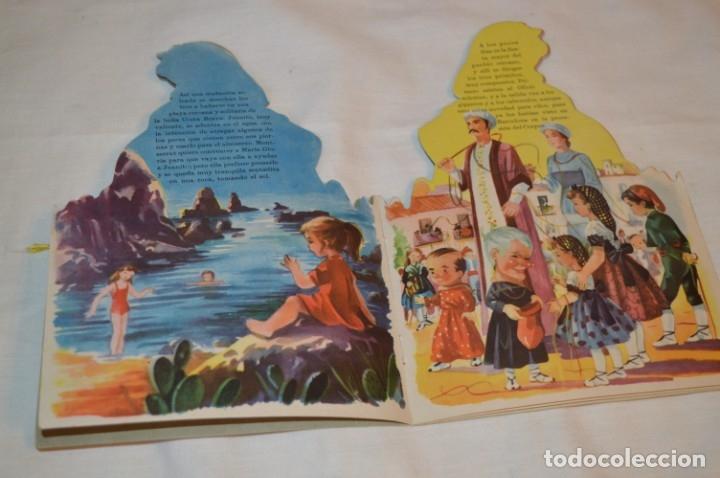 Libros de segunda mano: Troquelado MONTSERRAT LA CATALANITA - Colección NIÑOS de ESPAÑA - Editorial MATEU Años 50/60 ¡Mira! - Foto 4 - 181327987