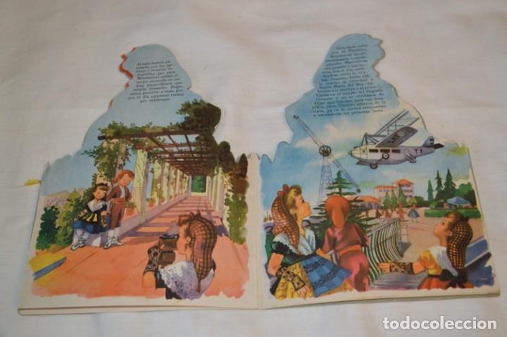 Libros de segunda mano: Troquelado MONTSERRAT LA CATALANITA - Colección NIÑOS de ESPAÑA - Editorial MATEU Años 50/60 ¡Mira! - Foto 5 - 181327987