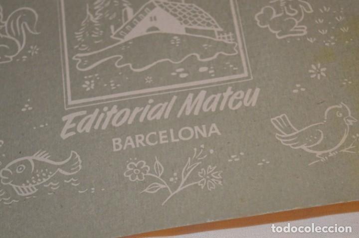 Libros de segunda mano: Troquelado MONTSERRAT LA CATALANITA - Colección NIÑOS de ESPAÑA - Editorial MATEU Años 50/60 ¡Mira! - Foto 6 - 181327987