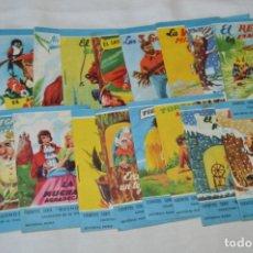 Libros de segunda mano: CUENTOS SERIE BUENOS DÍAS - LOTE 17 CUENTOS VARIADOS / EDITORIAL ROMA - AÑOS 50/60 ¡MIRA!. Lote 181337901