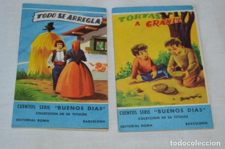 Libros de segunda mano: Cuentos serie BUENOS DÍAS - Lote 17 cuentos variados / Editorial ROMA - Años 50/60 ¡Mira! - Foto 3 - 181337901