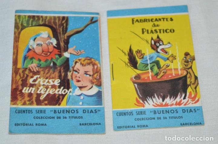 Libros de segunda mano: Cuentos serie BUENOS DÍAS - Lote 17 cuentos variados / Editorial ROMA - Años 50/60 ¡Mira! - Foto 4 - 181337901