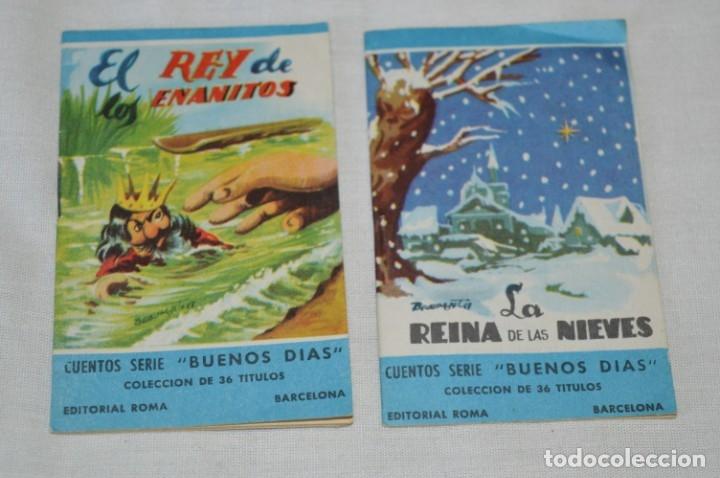 Libros de segunda mano: Cuentos serie BUENOS DÍAS - Lote 17 cuentos variados / Editorial ROMA - Años 50/60 ¡Mira! - Foto 6 - 181337901