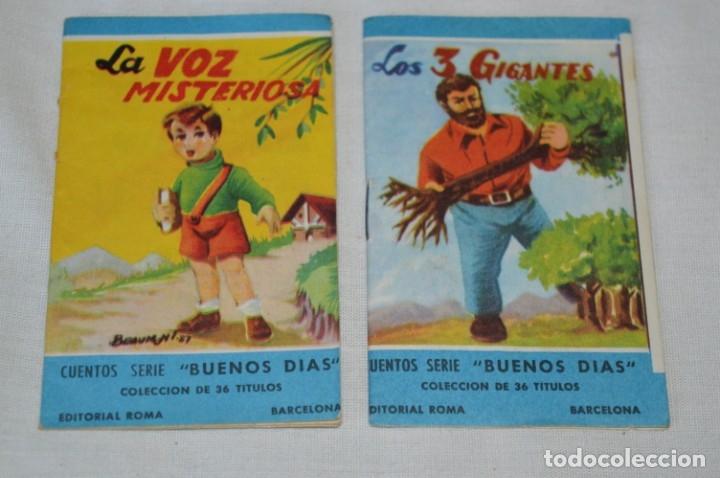 Libros de segunda mano: Cuentos serie BUENOS DÍAS - Lote 17 cuentos variados / Editorial ROMA - Años 50/60 ¡Mira! - Foto 7 - 181337901