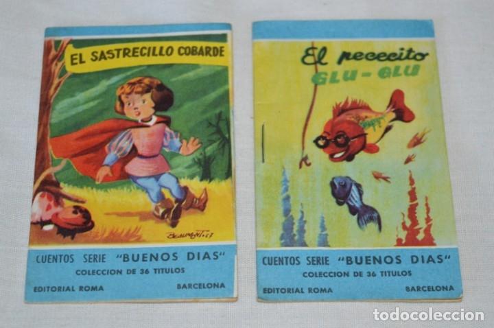 Libros de segunda mano: Cuentos serie BUENOS DÍAS - Lote 17 cuentos variados / Editorial ROMA - Años 50/60 ¡Mira! - Foto 8 - 181337901