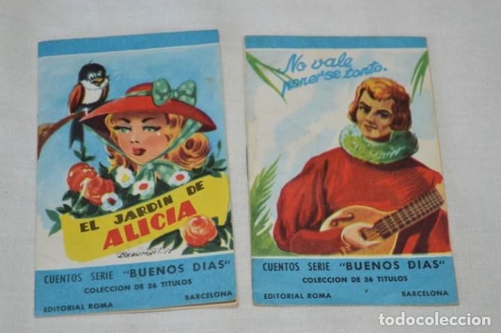 Libros de segunda mano: Cuentos serie BUENOS DÍAS - Lote 17 cuentos variados / Editorial ROMA - Años 50/60 ¡Mira! - Foto 9 - 181337901