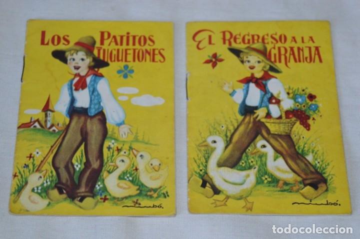 Libros de segunda mano: Serie CUENTOS BABY - Lote 10 cuentos variados / Editorial ROMA - Años 50/60 ¡Mira! - Foto 6 - 181342732