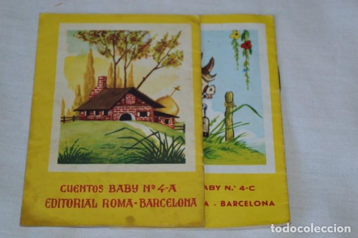Libros de segunda mano: Serie CUENTOS BABY - Lote 10 cuentos variados / Editorial ROMA - Años 50/60 ¡Mira! - Foto 9 - 181342732