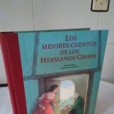 Libros de segunda mano: 159-LOS MEJORES CUENTOS DE LOS HERMANOS GRIMM, 2002. Lote 182043755