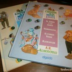 Libros de segunda mano: LOTE 2 LIBROS CUENTOS DE LA MEDIA LUNITA - VOL. 8,12 - ALGAIDA EDITORES, S.A. 1987.. Lote 182095625