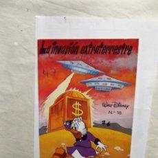 Libros de segunda mano: LA INVASION EXTRATERRESTRE COLECCION PEQUEÑAS AVENTURAS Nº 18 WALT DISNEY. Lote 182208362