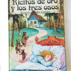 Libros de segunda mano: RICITOS DE ORO Y LOS TRES OSOS. Lote 182234980