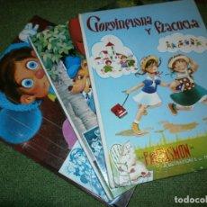 Libros de segunda mano: COLECCIÓN FANTASÍA - TOMOS Nº 2,7,11 - IILUSTRACIONES DE MAGDA Y MARIA ROSA GARCÍA - EDT. GOYA, S.A.. Lote 182314930