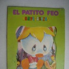 Libros de segunda mano: HELENITA - EL PATITO FEO. ROMPECABEZAS (ROMA, CUENTOS CLÁSICOS, 1975). SIN EL ROMPECABEZAS.. Lote 182353091