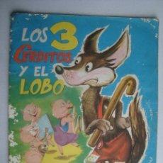 Libros de segunda mano: GUTMAGA (MANUEL GUTIÉRREZ GARULO) - LOS 3 CERDITOS Y EL LOBO (VASCO AMERICANA, ÁLBUMES EVA 6, 1962).. Lote 182353522