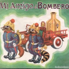Libros de segunda mano: MI AMIGO EL BOMBERO (CODEX, 1950) POP UP. Lote 182745595
