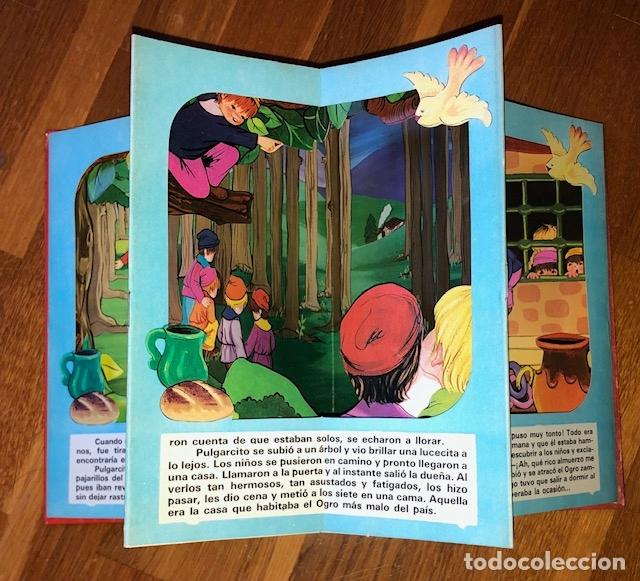 Libros de segunda mano: PULGARCITO CLASIC DIORAMA ROMA - POP UP - Foto 2 - 182773607