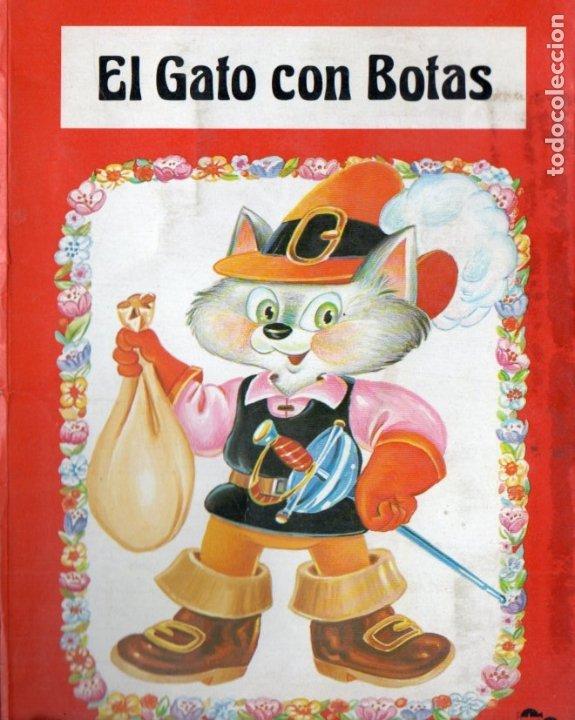 EL GATO CON BOTAS SALDAÑA 1984 - POP UP (Libros de Segunda Mano - Literatura Infantil y Juvenil - Cuentos)