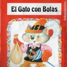 Libros de segunda mano: EL GATO CON BOTAS SALDAÑA 1984 - POP UP. Lote 182773806