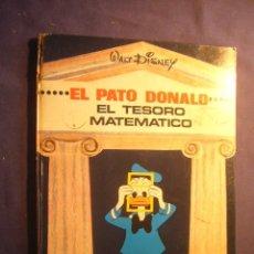 Libros de segunda mano: WALT DISNEY: - EL PATO DONALD Y EL TESORO MATEMATICO -. (BILBAO, 1968). Lote 182779163