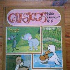 Libros de segunda mano: CLÁSICOS WALT DISNEY Nº 6. Lote 182782797