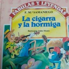 Libros de segunda mano: LIBRO NÚM. 2 LA CIGARRA Y LA HORMIGA ILUSTRADO ISIDRE MONÉS. Lote 182822631