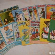 Libros de segunda mano: LOTE VARIAS COLECCIONES DIFERENTES - 15 CUENTOS VARIADOS / EDITORIAL ROMA - AÑOS 50/60 ¡MIRA FOTOS!. Lote 183189083