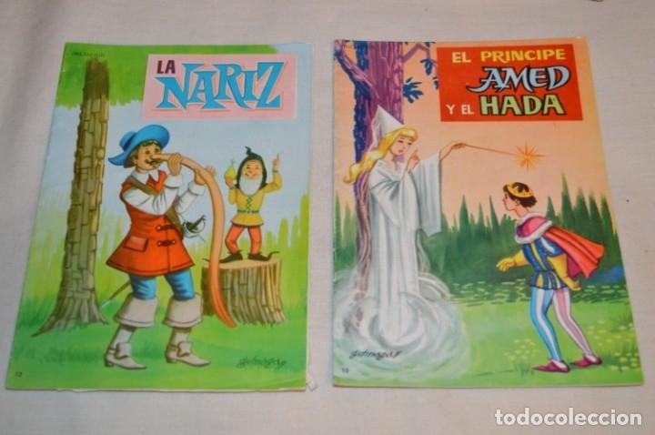 Libros de segunda mano: Lote Colecciones diferentes - 18 cuentos variados / Editoriales variadas - Años 40/60 ¡Mira fotos! - Foto 8 - 183195023