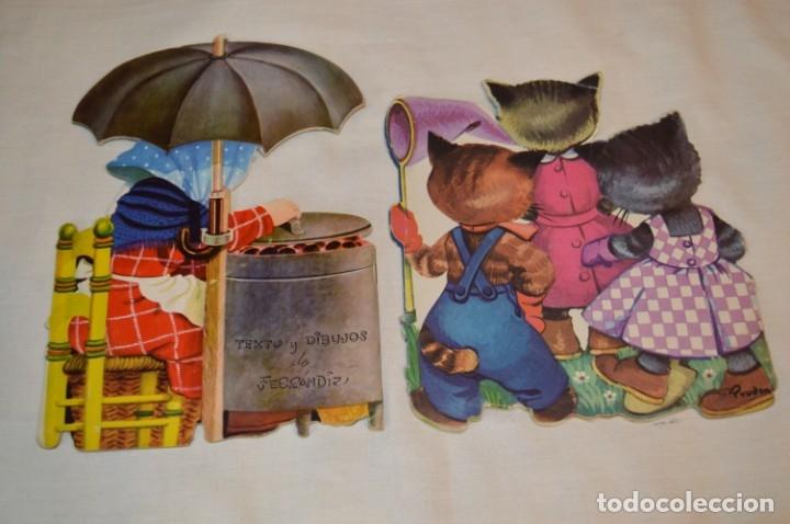Libros de segunda mano: LOTE 04 ------- 6 CUENTOS ANTIGUOS TROQUELADOS variados - AÑOS 50/60 - Diferentes editoriales ¡Mira! - Foto 3 - 183262731