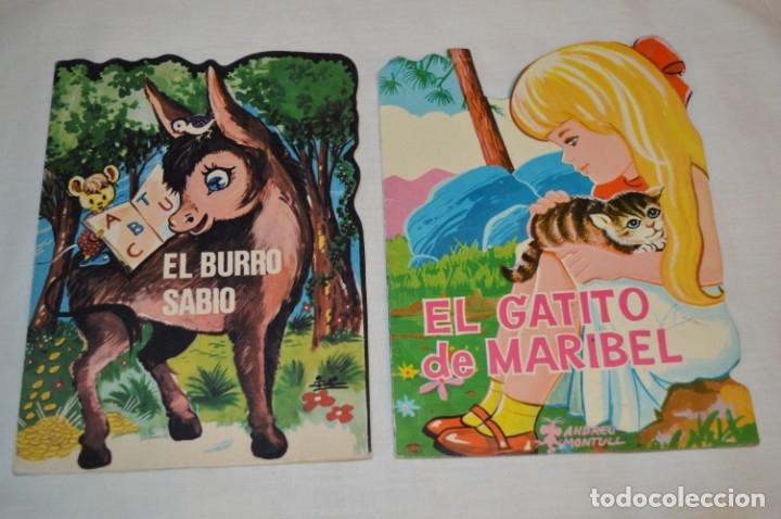 Libros de segunda mano: LOTE 04 ------- 6 CUENTOS ANTIGUOS TROQUELADOS variados - AÑOS 50/60 - Diferentes editoriales ¡Mira! - Foto 4 - 183262731