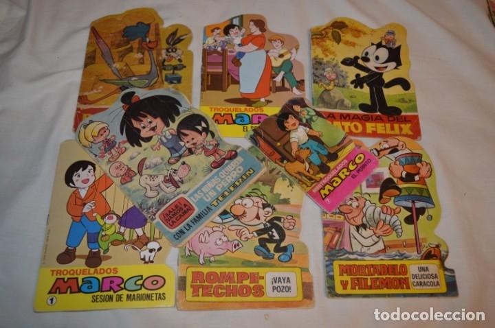LOTE 13 ------- 8 CUENTOS ANTIGUOS TROQUELADOS VARIADOS - AÑOS 60/70 - DIFERENTES EDITORIALES ¡MIRA! (Libros de Segunda Mano - Literatura Infantil y Juvenil - Cuentos)