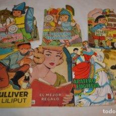 Libros de segunda mano: LOTE 14 ------- 7 CUENTOS ANTIGUOS TROQUELADOS VARIADOS - AÑOS 60/70 - DIFERENTES EDITORIALES ¡MIRA!. Lote 183273591