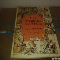 Libros de segunda mano: LAS AVENTURAS DE ALICIA , LEWIS CARROLL, ILUSTRACIONES JOHN TENNIEL . EDICIONES ANAYA. Lote 183295781