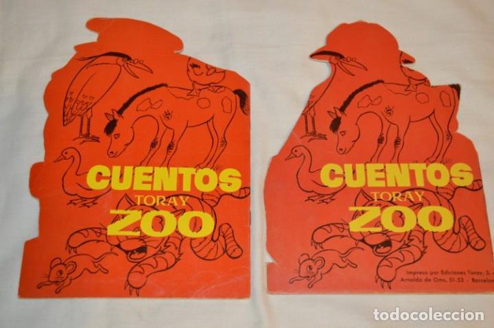 Libros de segunda mano: LOTE 15 ------- 8 CUENTOS ANTIGUOS TROQUELADOS variados - AÑOS 60 - Cuentos TORAY Zoo ¡Mira! - Foto 3 - 183313363