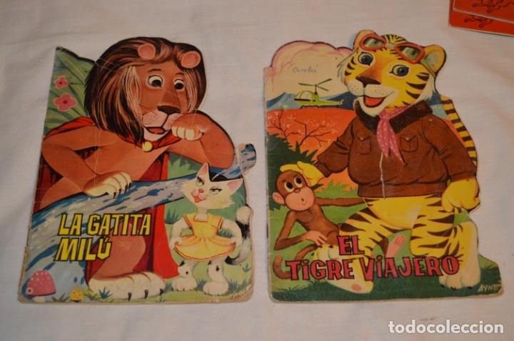 Libros de segunda mano: LOTE 15 ------- 8 CUENTOS ANTIGUOS TROQUELADOS variados - AÑOS 60 - Cuentos TORAY Zoo ¡Mira! - Foto 4 - 183313363