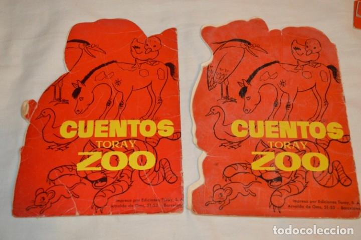 Libros de segunda mano: LOTE 15 ------- 8 CUENTOS ANTIGUOS TROQUELADOS variados - AÑOS 60 - Cuentos TORAY Zoo ¡Mira! - Foto 5 - 183313363