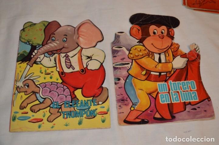 Libros de segunda mano: LOTE 15 ------- 8 CUENTOS ANTIGUOS TROQUELADOS variados - AÑOS 60 - Cuentos TORAY Zoo ¡Mira! - Foto 6 - 183313363