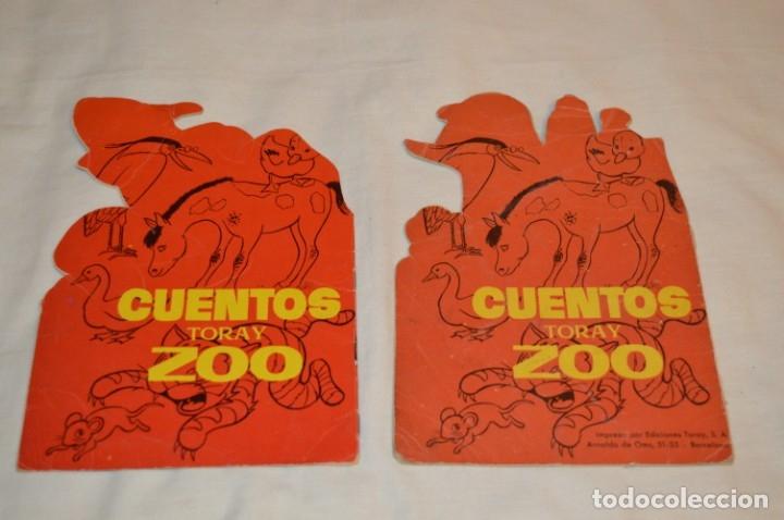 Libros de segunda mano: LOTE 15 ------- 8 CUENTOS ANTIGUOS TROQUELADOS variados - AÑOS 60 - Cuentos TORAY Zoo ¡Mira! - Foto 9 - 183313363