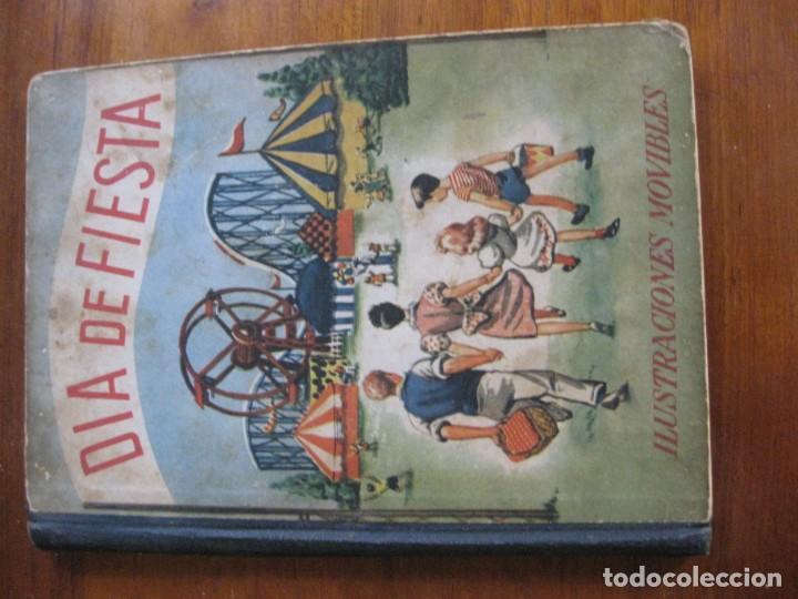 Libros de segunda mano: precioso cuento animado pop up diorama desplegable . dia de fiesta ed cervantes - Foto 2 - 183390456