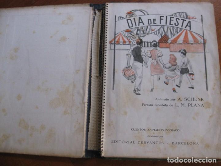 Libros de segunda mano: precioso cuento animado pop up diorama desplegable . dia de fiesta ed cervantes - Foto 3 - 183390456