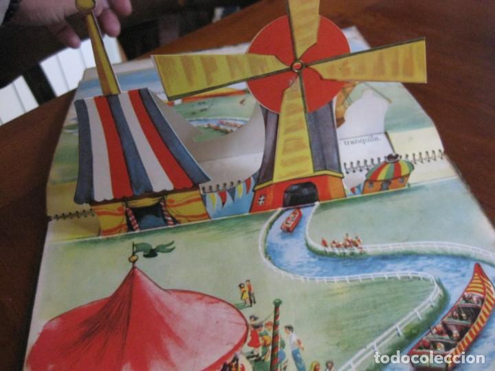 Libros de segunda mano: precioso cuento animado pop up diorama desplegable . dia de fiesta ed cervantes - Foto 8 - 183390456