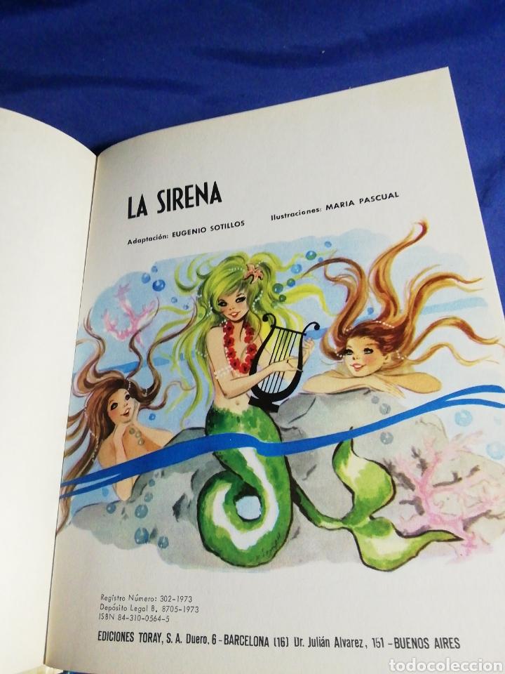 Libros de segunda mano: LA SIRENA. CUENTOS CLÁSICOS TORAY - Foto 3 - 183596385