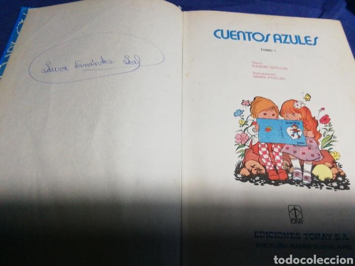 Libros de segunda mano: CUENTOS AZULES 1. TORAY - Foto 4 - 183598015