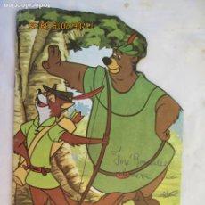 Libros de segunda mano: CUENTOS TROQUELADOS WALT DISNEY Nº 12 - ROBIN HOOD - EDICIONES TORAY 1988. . Lote 183605871